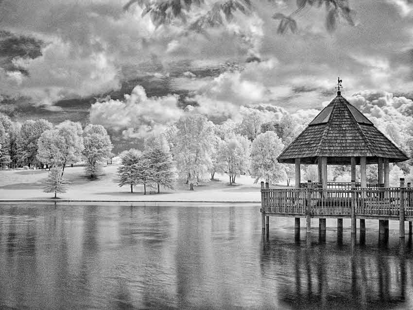 The subject of infrared photography