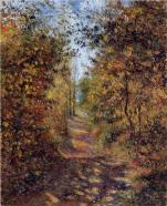 Camille Pissarro a-path-in-the-woods-pontoise-1879