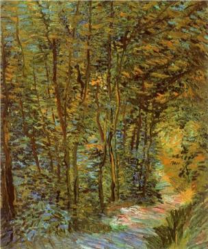 Van Gogh - path-in-the-woods-1887