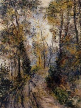 Renoir the-path-through-the-forest-1871