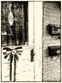 Typical Main Street Front Door
